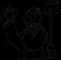 Kleurplaten Van Sinterklaas En De Pieten.Kleurplaten Sinterklaas De Leukste Kleurplaten Van Sint Piet